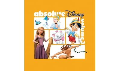 Musik-CD »Absolute Disney: Vol.3 / Diverse Film/TV-Serien« kaufen