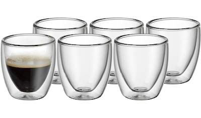 WMF Gläser-Set »Kult«, (Set, 6 tlg.), wärmeisolierend, 6-teilig kaufen