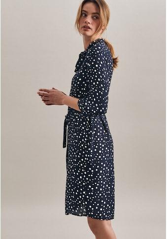 seidensticker Sommerkleid »Schwarze Rose«, 3/4-Arm Schluppe Punkte kaufen