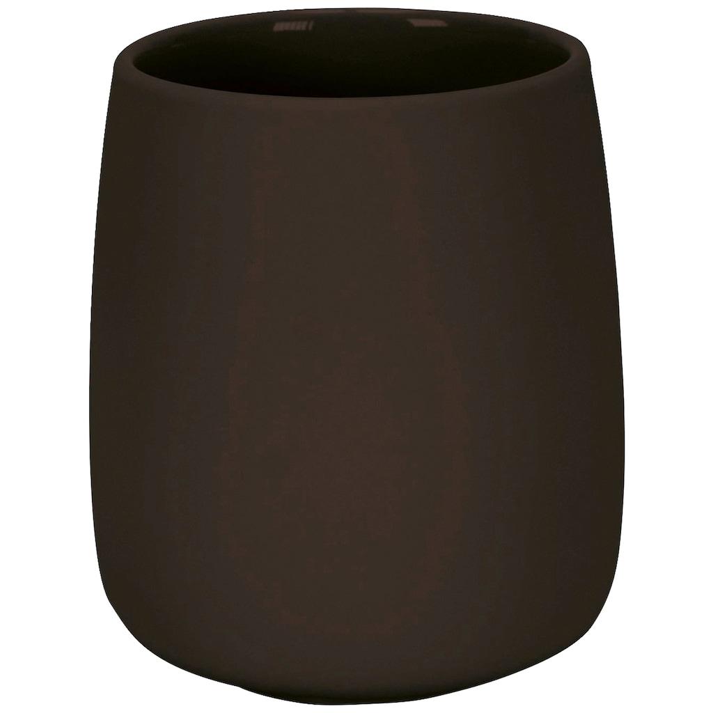 Kleine Wolke Zahnputzbecher »Eclipse«, Accessoire Serie mit gummierter Oberfläche