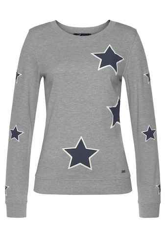 Arizona Sweatshirt »mit Sternendruck« kaufen