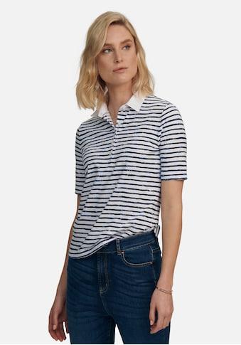 Peter Hahn Poloshirt »Polo-Shirt«, mit Ziernähten kaufen