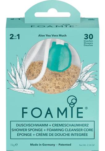 """FOAMIE Duschschwamm """"Aloe You Vera Much"""" kaufen"""