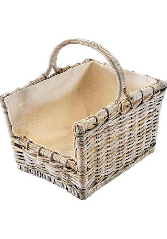 locker Kaminholzkorb, 50/38/45 cm kaufen