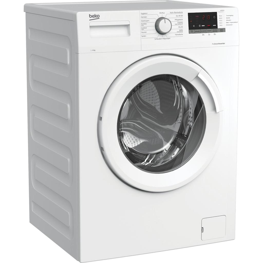 BEKO Waschmaschine »WMO6221«, WMO6221 7146543700