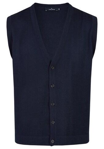 Daniel Hechter Strickweste, im edel-stylischen Look kaufen
