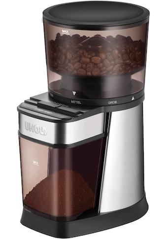 Unold Kaffeemühle »Edel 28915«, 150 W, Kegelmahlwerk, 250 g Bohnenbehälter kaufen