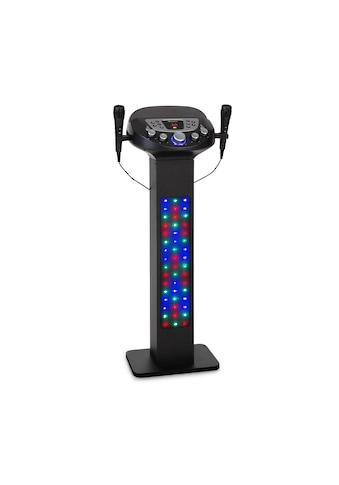 Auna Karaokeanlage BT 2xMikro Multicolor USB 40W kaufen