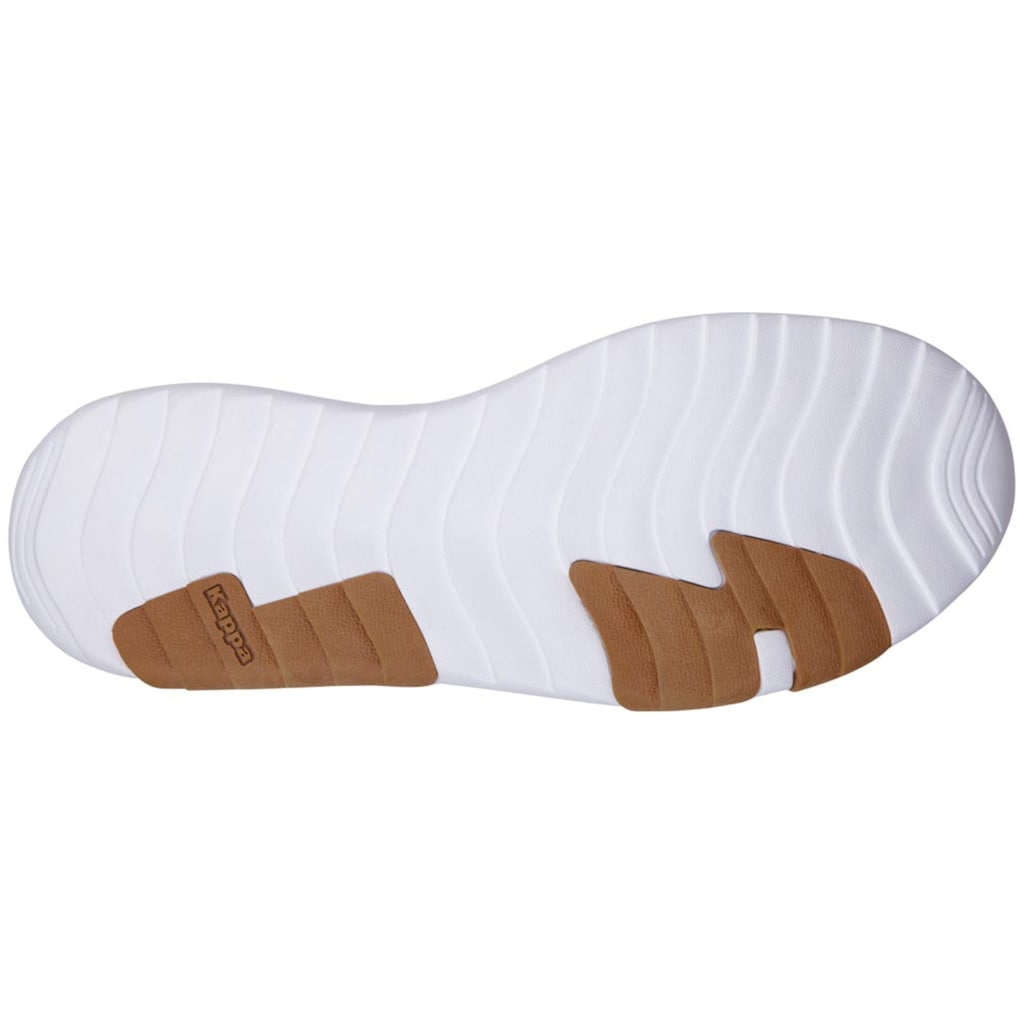 Kappa Sneaker »SHARE«, in schönem Materialmix