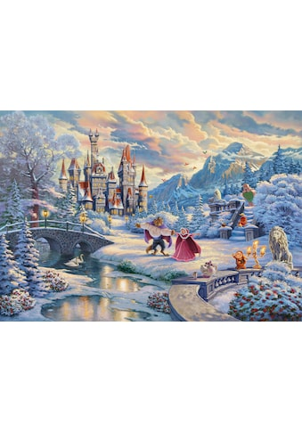 """Schmidt Spiele Puzzle """"Disney, Die Schöne und das Biest, Zauberhafter Winterabend"""" kaufen"""