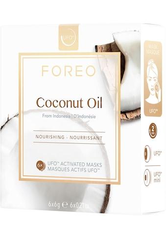 FOREO Tuchmaske »Coconut Oil«, (Packung), 6 x 6 g, kompatibel mit UFO & UFO mini kaufen