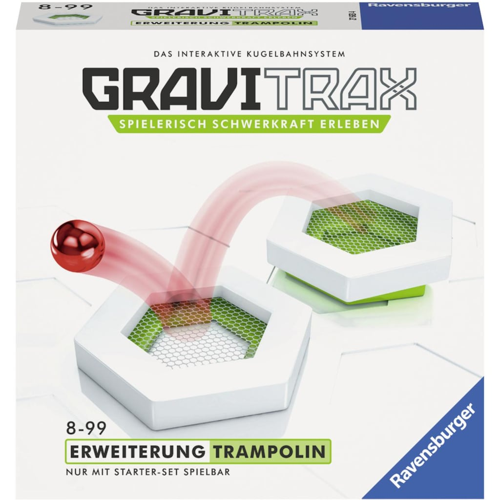 Ravensburger Kugelbahn-Bausatz »GraviTrax® Trampolin«, Made in Europe, FSC® - schützt Wald - weltweit