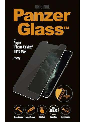 PanzerGlass Schutzglas »Privacy für Apple iPhone XS Max/11 Pro Max« kaufen