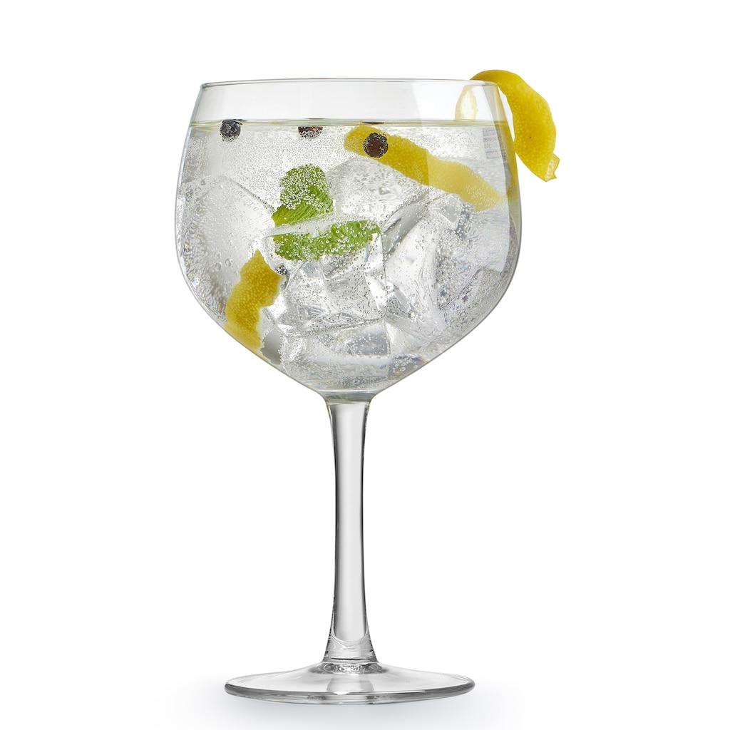 van Well Cocktailglas »Gin Tonic«, (Set, 4 tlg.), 650 ml, im Geschenkkarton, 4-teilig