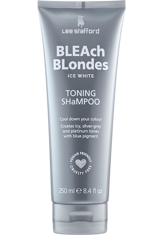 Lee Stafford Haarshampoo »Bleach Blonde Ice White Toning Shampoo« kaufen