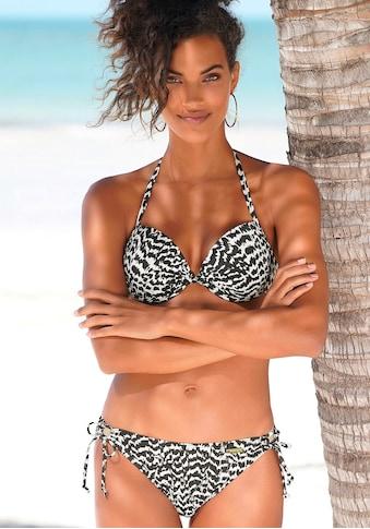 LASCANA Push-Up-Bikini-Top »Clara«, mit geknotetem Top kaufen