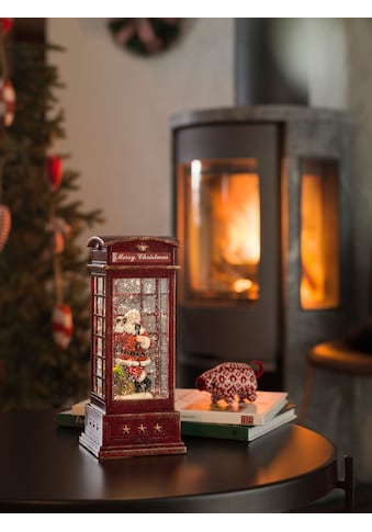 KONSTSMIDE LED Laterne, LED-Modul, 1 St., Warmweiß, LED Telefonzelle mit Weihnachtsmann kaufen