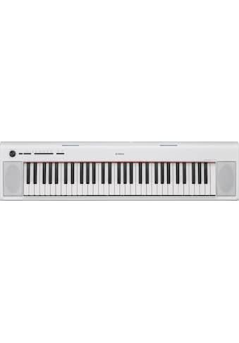 Yamaha Digitalpiano »NP-12WH«, einfache Verbindung über USB-to-Host-Anschluss kaufen
