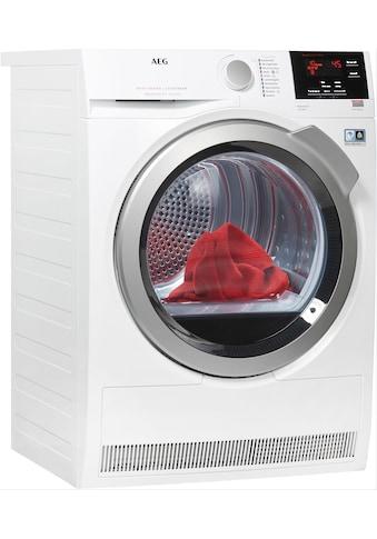 AEG Wärmepumpentrockner 8000 LAVATHERM LAVATHERM T8DBA3, 8 kg kaufen