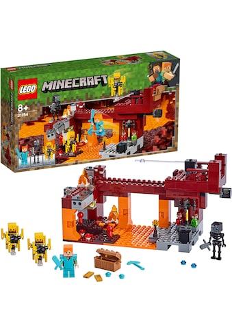 LEGO® Konstruktionsspielsteine »Die Brücke (21154), LEGO® Minecraft™«, (372 St.), Made... kaufen
