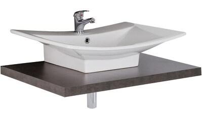 MARLIN Waschtisch »Laos 3110«, Breite 80 cm, Farbe Waschtischplatte & Waschbeckenart... kaufen
