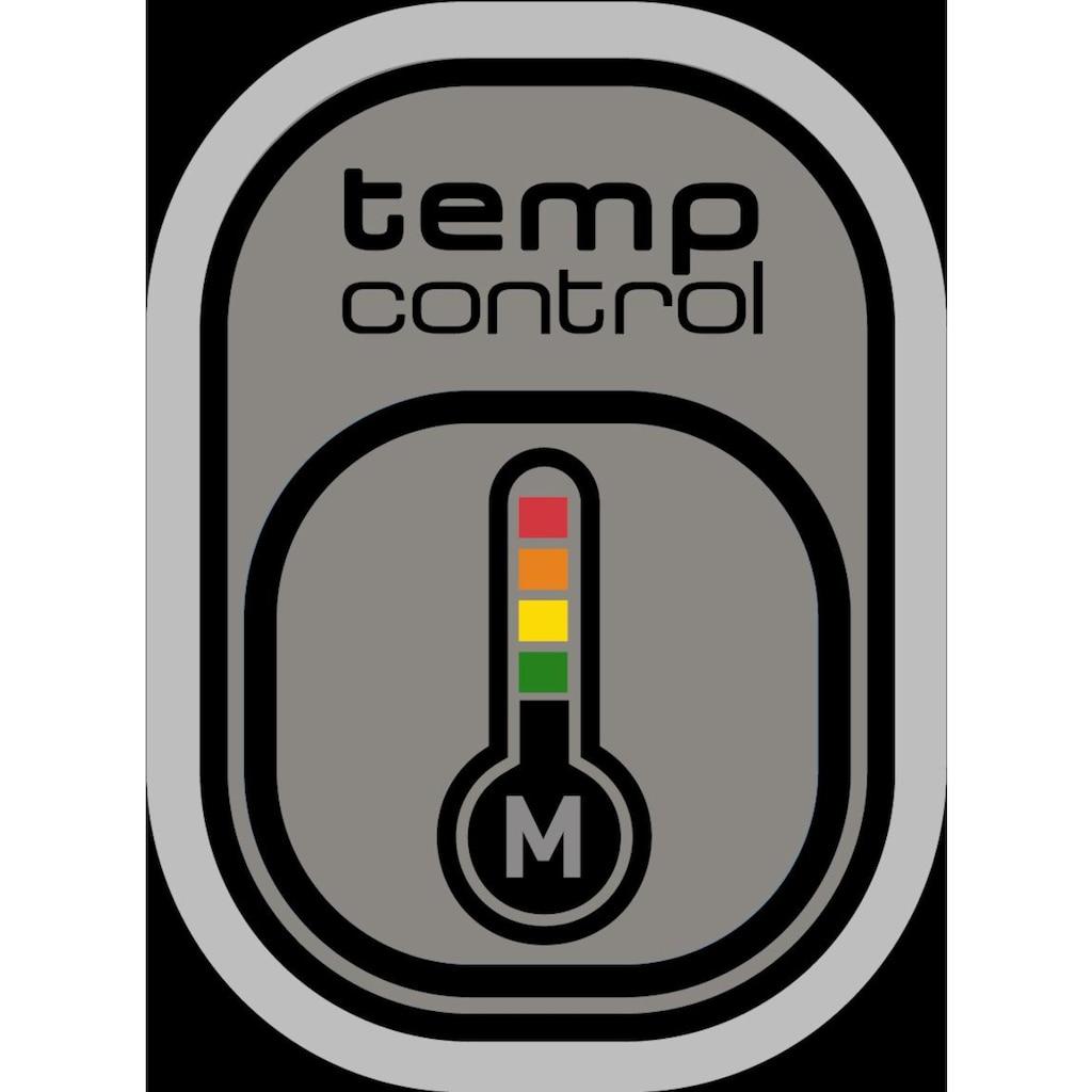 Tefal Kontaktgrill »GC712D OptiGrill+«, 1830 W, vier Temperaturstufen im manuellen Modus, Rezeptheft und Rezept-App