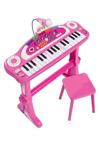"SIMBA Spielzeug - Musikinstrument ""Keyboard mit Stuhl, pink"" kaufen"