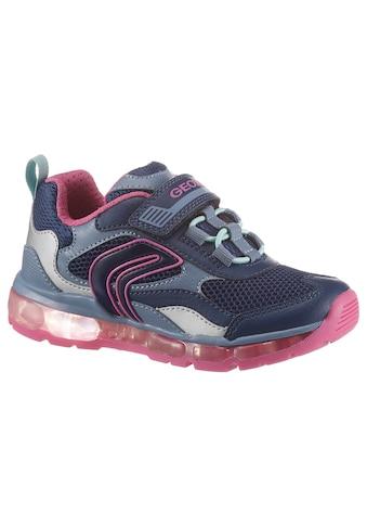 Geox Kids Sneaker »ANDROID«, mit ein- und ausschaltbarer Blinkfunktion kaufen
