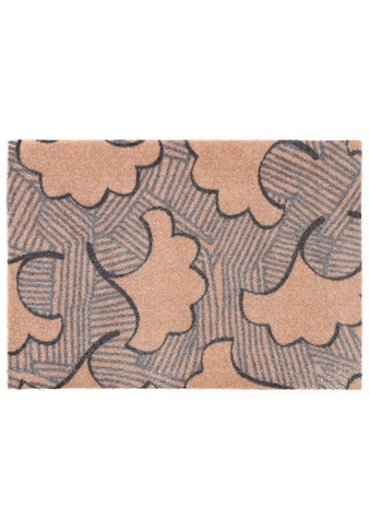 ELLE Decor Fußmatte »Leaf«, rechteckig, 7 mm Höhe, Schmutzfangmatte kaufen