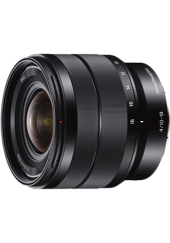 Sony Objektiv »E - Mount APS - C Zoomobjektiv 10 - 18mm F4.0« kaufen