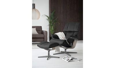 Stressless® Relaxsessel »Reno«, mit Cross Base, Größe S, M & L, Gestell Whitewash kaufen