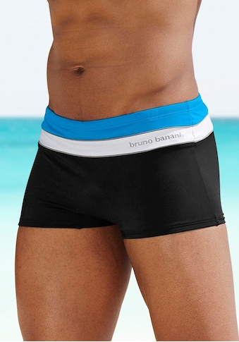 Bruno Banani Boxer-Badehose, mit Kontraststreifen kaufen