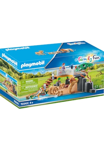 Playmobil® Konstruktions-Spielset »Löwen im Freigehege (70343), Family Fun«, ; Made in... kaufen