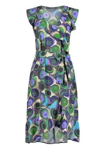 Nicowa Sommerliches Kleid NAVILLA mit Volants und Allover-Muster kaufen