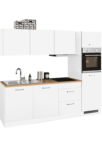 HELD MÖBEL Küchenzeile »Kehl«, mit E-Geräten, Breite 240 cm, wahlweise mit... kaufen