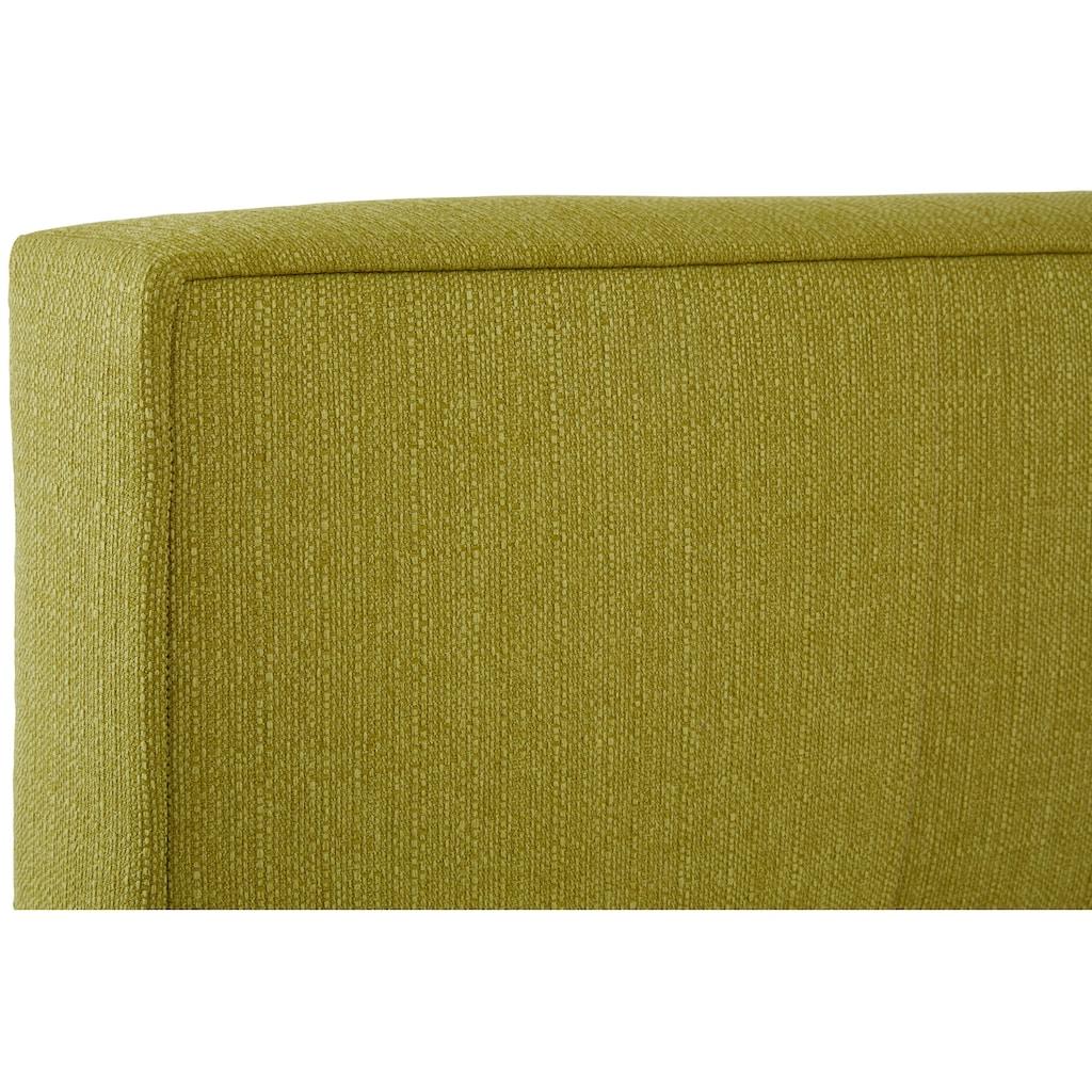 INOSIGN Boxspringbett »Casano«, mit feiner Steppung, in 3 Matratzenarten, 2 Härtegraden und 5 Farben