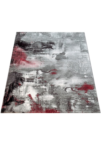 Paco Home Teppich »Canvas 754«, rechteckig, 16 mm Höhe, Kurzflor mit Arizona Leinwand Optik, Wohnzimmer kaufen