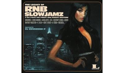 Musik-CD »The Legacy of Rn'B Slow Jamz / Various« kaufen