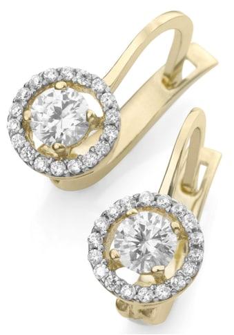Firetti Paar Ohrhänger »Rund« kaufen