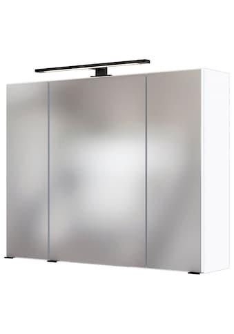 HELD MÖBEL Spiegelschrank »Luena«, Breite 80 cm, mit 3D-Effekt, dank drei Spiegeltüren kaufen