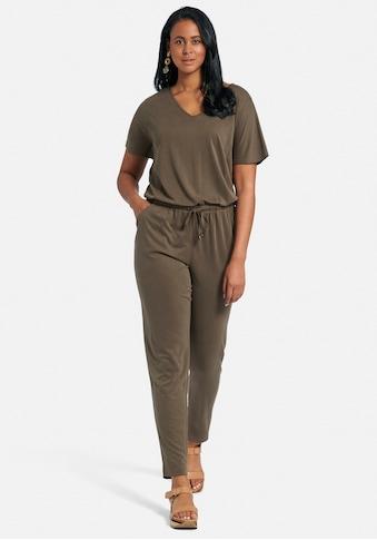 Emilia Lay Jumpsuit »Jersey-Overall«, mit Taillentunnelzug kaufen