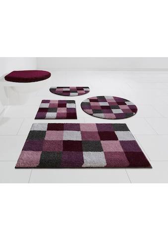 GRUND exklusiv Badematte »Mosaik«, Höhe 20 mm, rutschhemmend beschichtet, fußbodenheizungsgeeignet kaufen