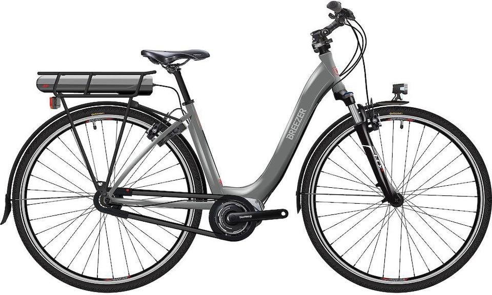 Breezer Bikes E Bike Greenway Ig Ls Cb Di2 2017 8 Gang Shimano