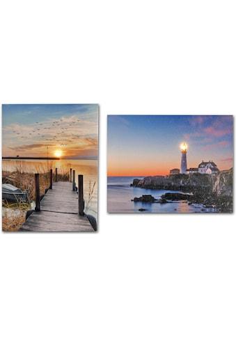 Home affaire LED-Bild, (Set) kaufen