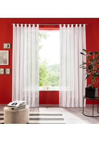 Gardine, »Xana«, my home, Schlaufen 1 Stück kaufen