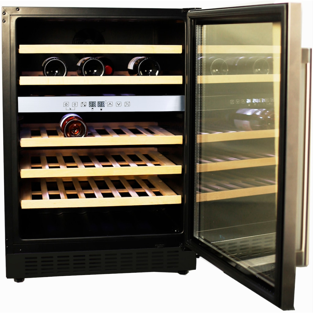 Hanseatic Weinkühlschrank »HWC46GCIA«, für 46 Standardflaschen á 075l