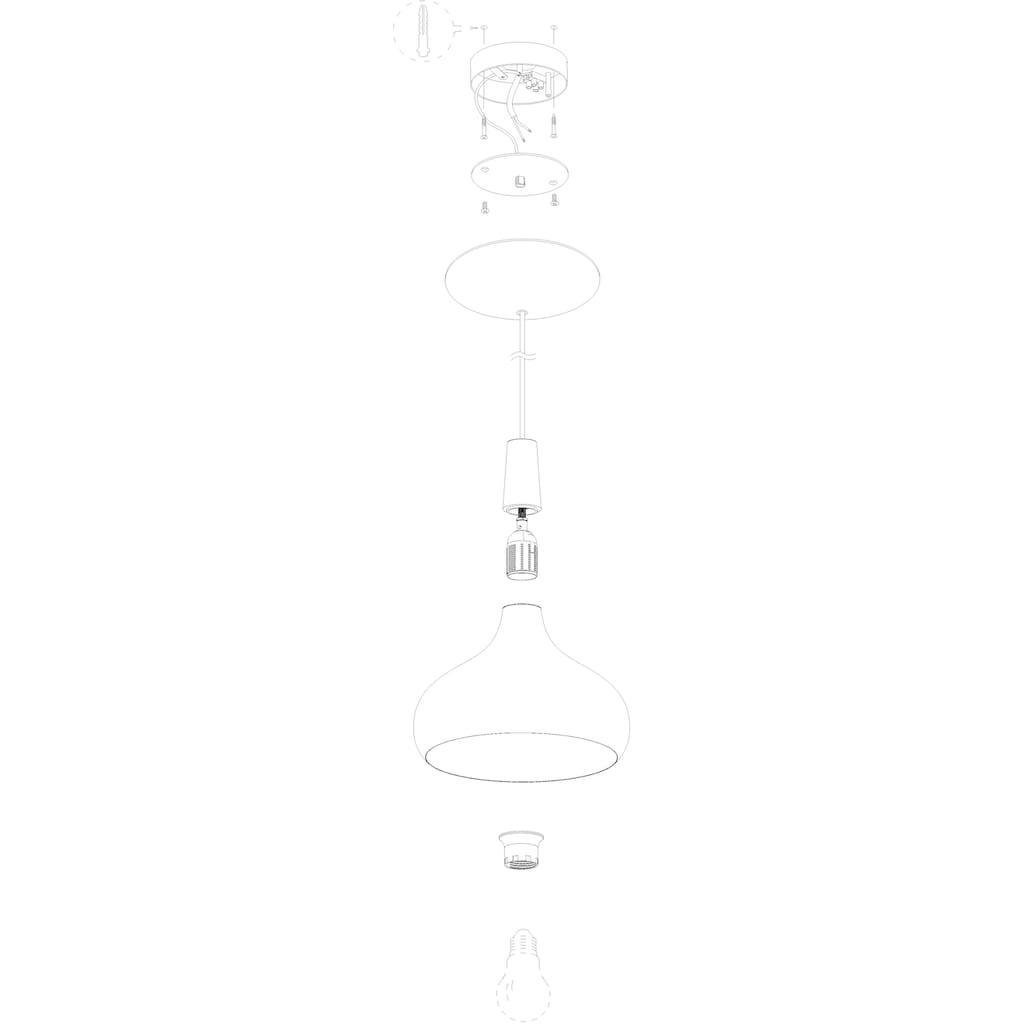 EGLO Pendelleuchte »SABINAR«, E27, Hängeleuchte, Hängelampe, dimmbar, Smart Home