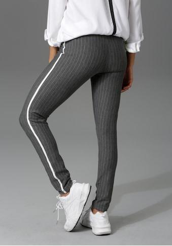 Aniston CASUAL Schlupfhose, mit Galonstreifen an den Seitennähten kaufen