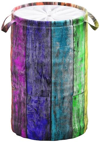 Sanilo Wäschekorb »Rainbow«, 60 Liter, faltbar, mit Sichtschutz kaufen