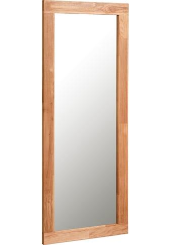 andas Spiegel »Teramo«, aus schönem massivem Eichenholz, zur Wandmontage, Breite 50 cm kaufen